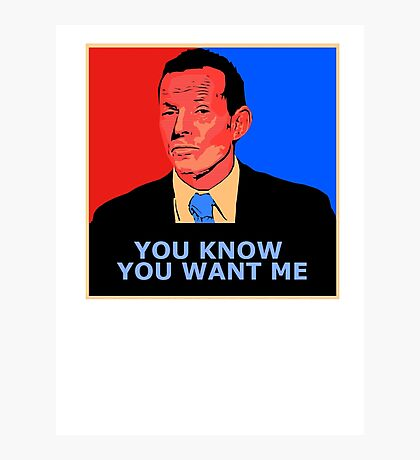 You know you want me Photographic Print