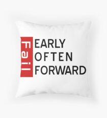 three ways to fail t-shirt Throw Pillow