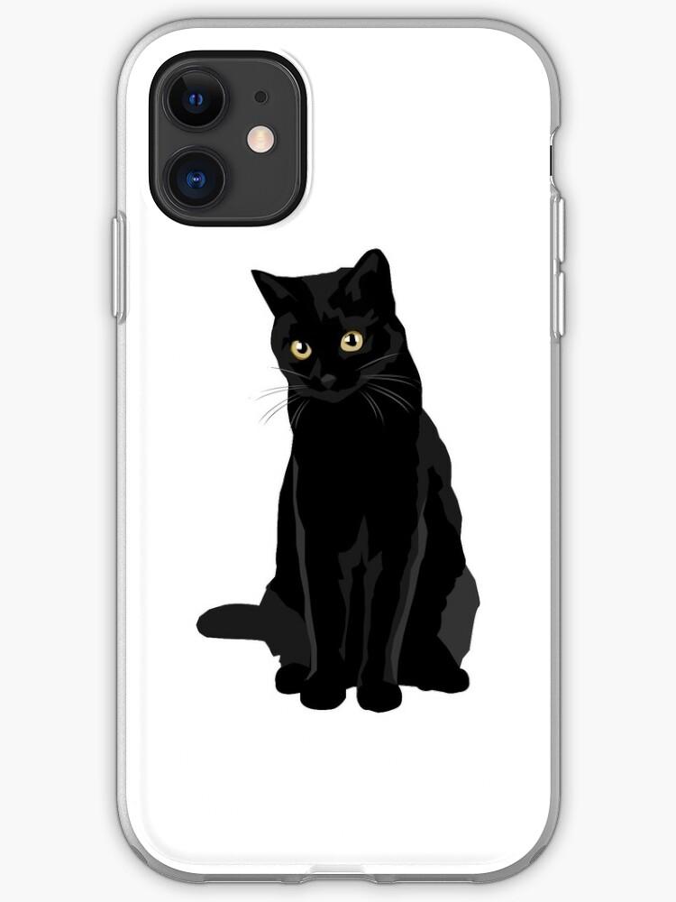 black cat iphone 11 case