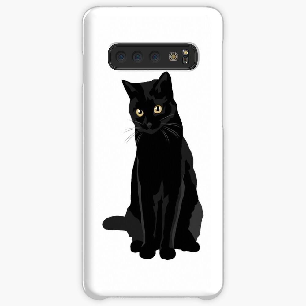 Gato negro Fundas y vinilos para Samsung Galaxy