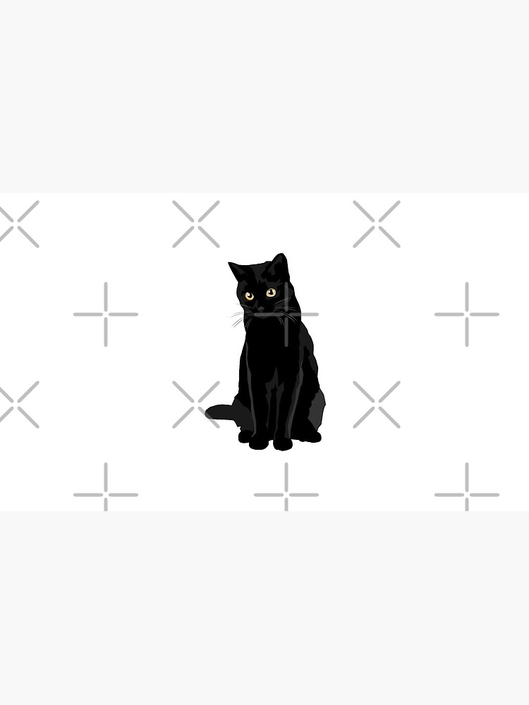 Gato negro de bluhak