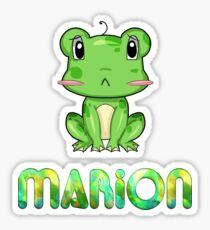 Marion Frog Sticker