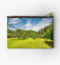 dirt road through abandoned apple orchard Studio Pouch