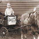 My Daddy at Age 1 by Glenna Walker