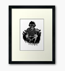Monkeys ... always up to no good ... Framed Print