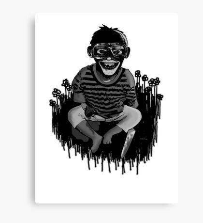 Monkeys ... always up to no good ... Canvas Print