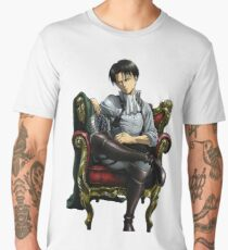 Camiseta premium para hombre Captain Levi