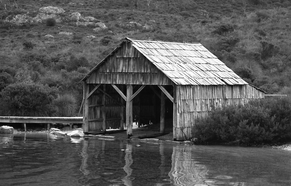 Boatshed at Dove Lake Cradle Mountain by archieswell