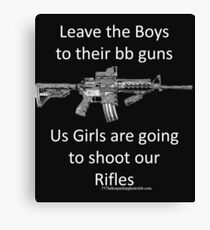 bb guns Canvas Print