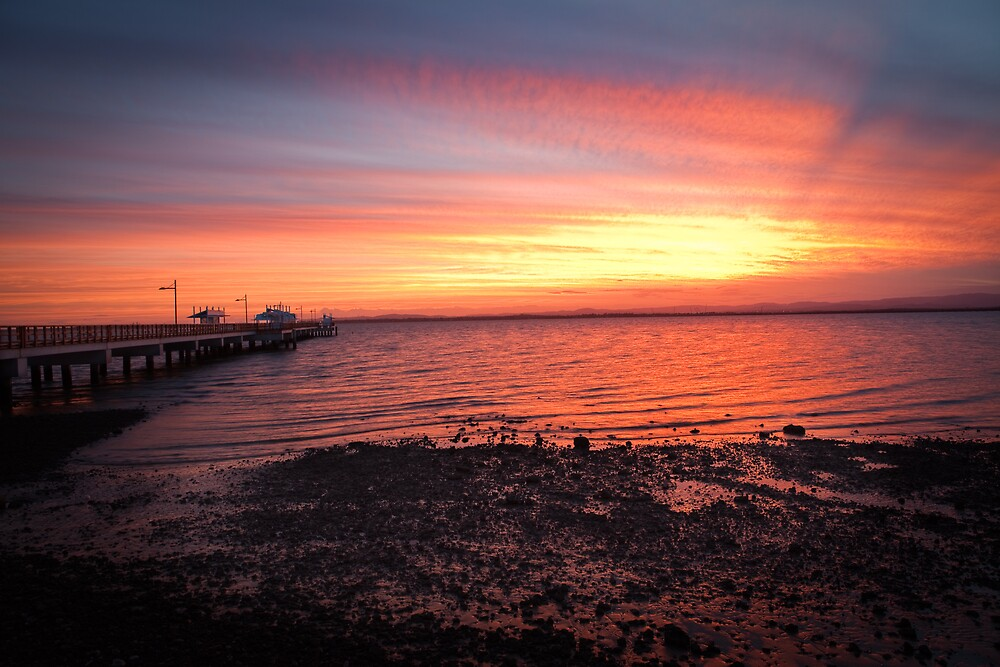 Woody Point Sunset by GVarney
