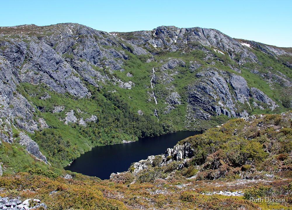 Crater Lake - Cradle Mountain National Park, Tasmania by Ruth Durose