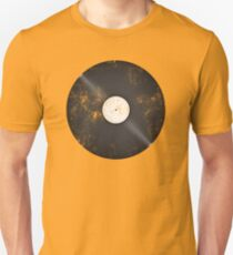 Scratched Record Unisex T-Shirt
