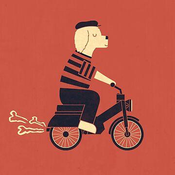 Moped by theodorezirinis