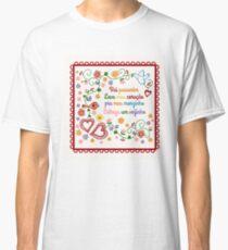 Valentines Gift or Lenço dos Namorados Classic T-Shirt