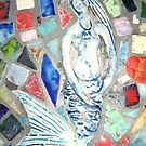 detail of my mosaic Table by catherine walker