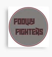 Foo Fighters Parody Canvas Print