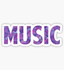 Watercolor Music Sticker
