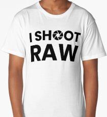 I Shoot Raw Images Long T-Shirt