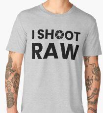 I Shoot Raw Images Men's Premium T-Shirt