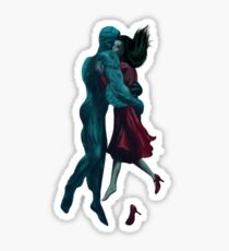 The shape of water Sticker