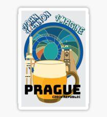 Sites of Prague Sticker