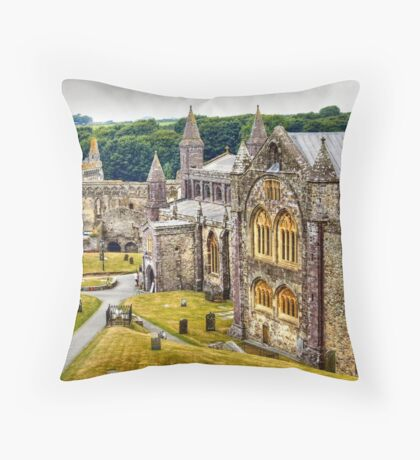 St David's Cathedral Floor Pillow