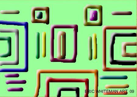 ( CONTOUR TOPO) ERIC WHITEMAN ART , by eric  whiteman