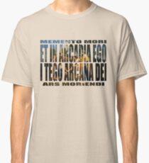 ET IN ARCADIA EGO - I TEGO ARCANA DEI Classic T-Shirt