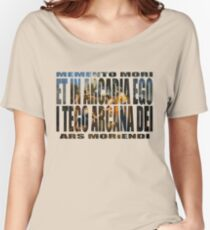 ET IN ARCADIA EGO - I TEGO ARCANA DEI Women's Relaxed Fit T-Shirt
