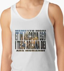 ET IN ARCADIA EGO - I TEGO ARCANA DEI Men's Tank Top