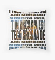 ET IN ARCADIA EGO - I TEGO ARCANA DEI Floor Pillow