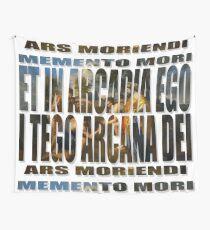 ET IN ARCADIA EGO - I TEGO ARCANA DEI Wall Tapestry