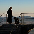 An Italian woman and her dog by Cvail73