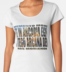 ET IN ARCADIA EGO - I TEGO ARCANA DEI Women's Premium T-Shirt