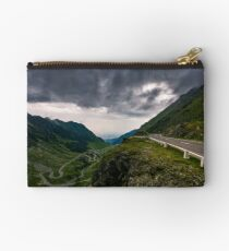 great Transfagarasan rout in stormy summer weather Studio Pouch
