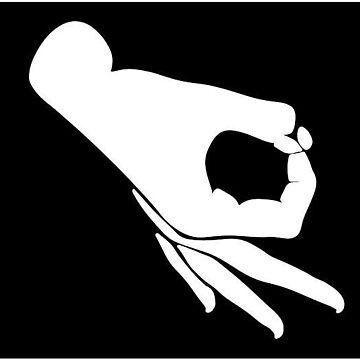 hand circle meme by MaxiPower