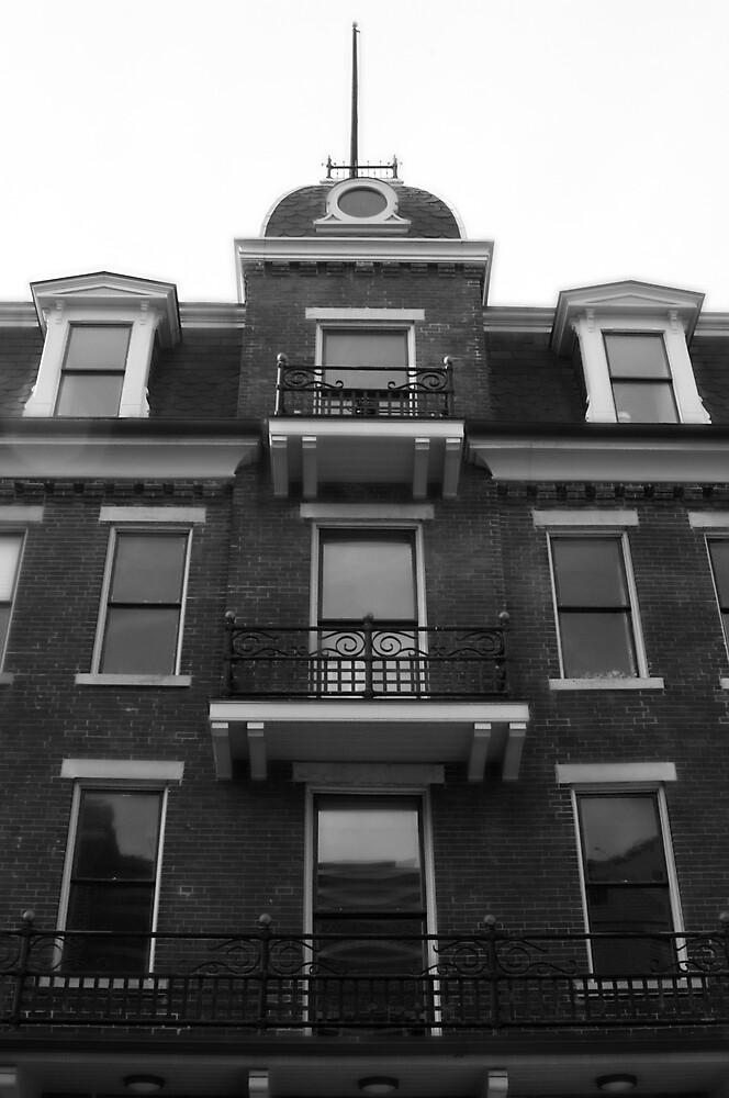 The Balcony by Tara Johnson