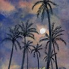 Moonlight Over Key West by Randy Sprout