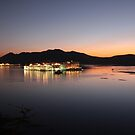 Udaipur by night by James Godber