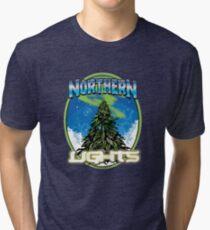 Luces de Northren Camiseta de tejido mixto