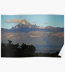 Mount Kenya Poster
