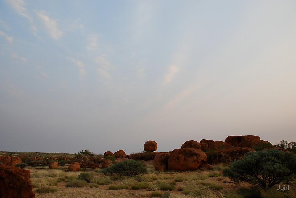 The Devils Marbles by Jgirl