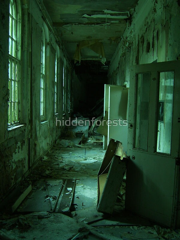 Cane Hill Mental Asylum - Cells by hiddenforests