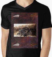 Freedom  018 Men's V-Neck T-Shirt