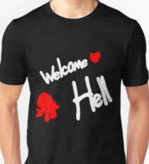 Welcome To Hell Slim Fit T-Shirt