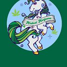 Medical Marijuana Unicorn by kushcoast