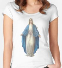 Mary Fitted Scoop T-Shirt