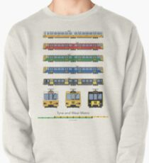 Tyne and Wear Metro Livery (full) Pullover