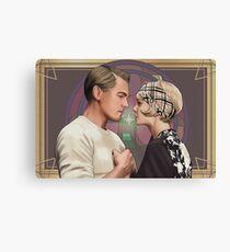 Lienzo Jay Gatsby y Daisy Buchanan