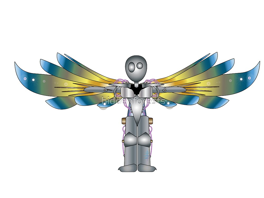 If robots grew wings by hiddenforests